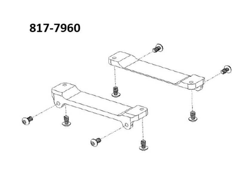 Steadicam Brackets Mount the Volt Control Box #817‐7960