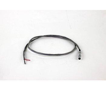 Steadicam 24 volt power Kabel, 3-pin Lemo connector, #802-0046