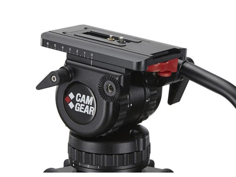 Camgear  DV-6P Fluid Head / Fluid Kopf