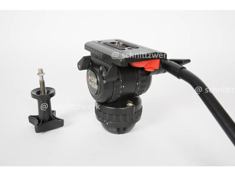 Camgear DV-6P CF GS75, Traglast bis 10kg, Carbon Stativbeine ...