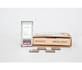 MEAD-SD02 SxS Memory Adapter + 4x San Disk 64GB Karte