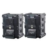 IDX IPL-150 (2 Stück) Li-Ionen PowerLink Akku, 143Wh, 14h, 14.4V