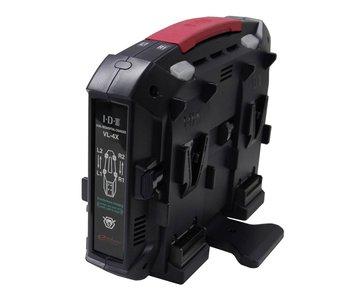 IDX VL-4X - 4-way charger for V-Mount Li-Ion batteries