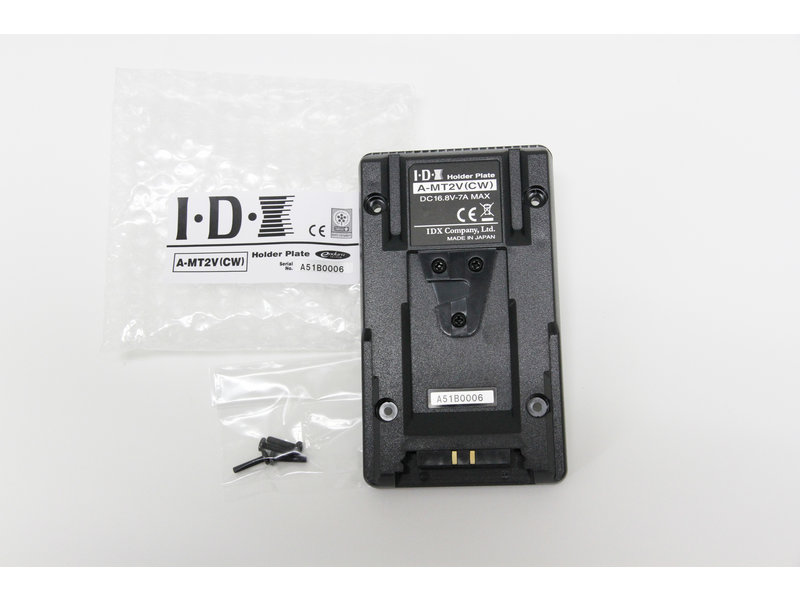 IDX  A-MT2V V-Mount-Adapterplatte (männlich) ...