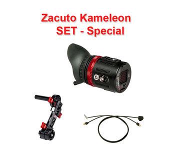 Zacuto Kameleon EVF Pro - SET - inkl. Halterung & Kabel