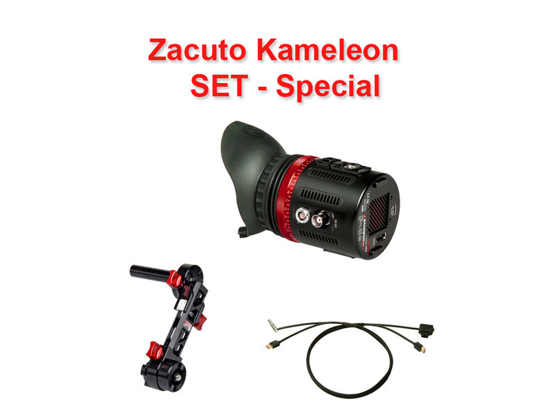 Zacuto 1080p Micro-OLED-Viewfinder, 3D-LUTs, für SDI&HDMI