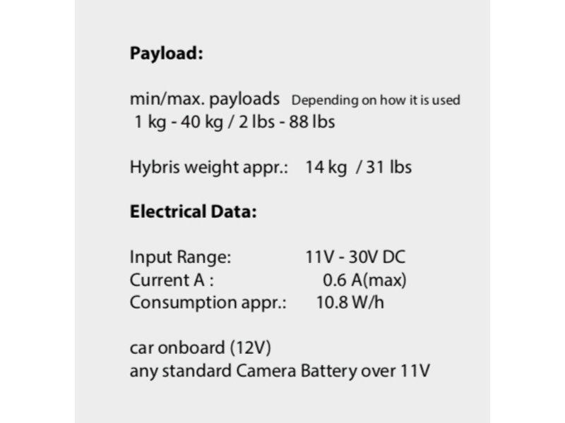 Idea Vision Hybris Shock Absorber HY-IV4187 - für Aufnahmen von Fahrzeugen
