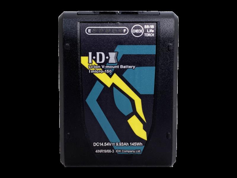 IDX 145 Wh Lithium-Ionen Akku, 14,4 V, D-Tap Ausgang, V-Mount