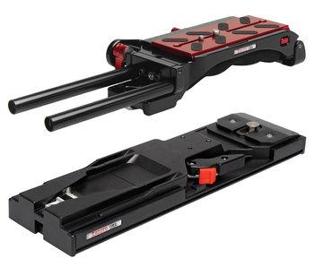 Zacuto VCT Pro Baseplate & VCT Tripod Plate # Z-VCT-P