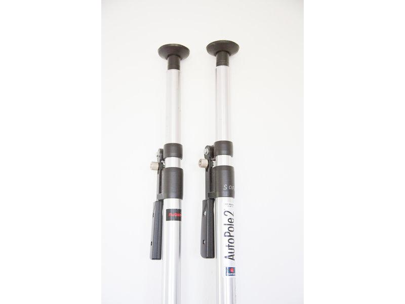 Manfrotto Autoplole 2 silber 2,1-3,7 m ausziehbar - 2 Stück