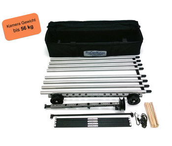 ProCam Motion Dolly kit, length 4 meters, rails