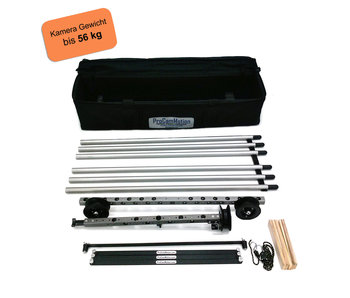 ProCam Motion Dolly kit, length 3 meters, rail system, expandable