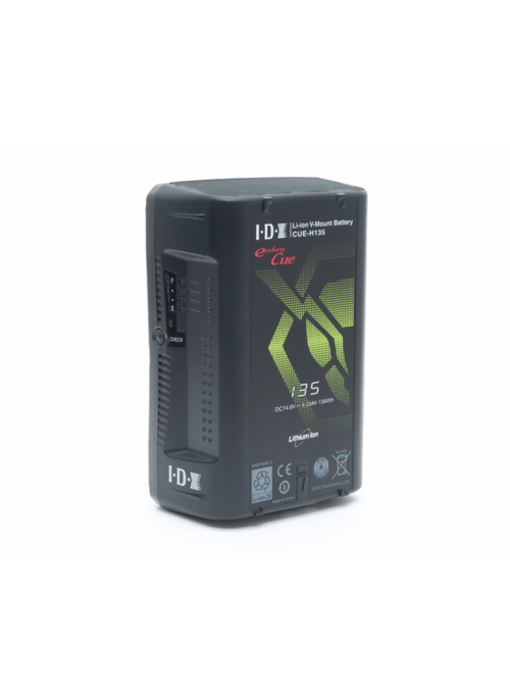 IDX CUE-H135 Lithium-Ionen V-Mount Akku,  135 Wh