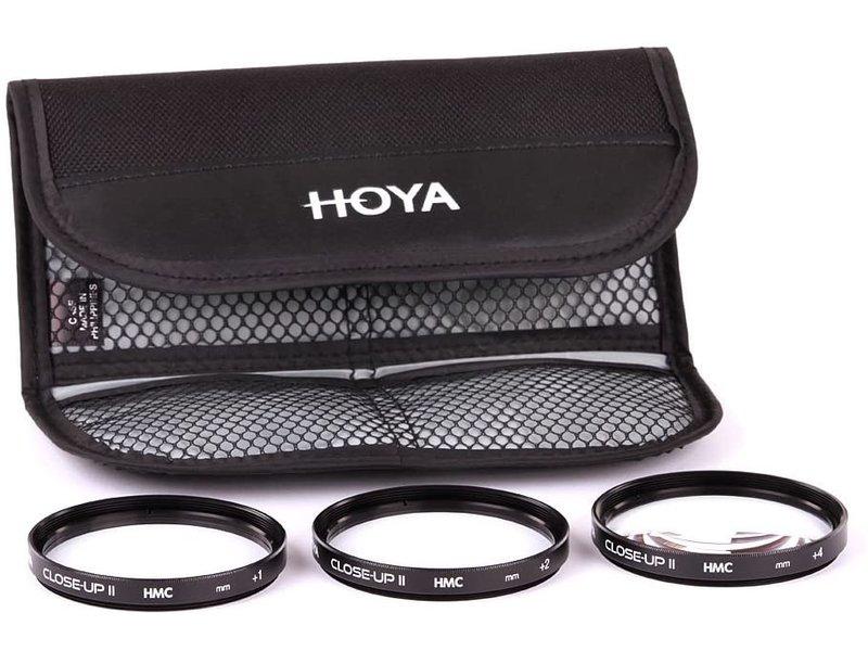 Hoya 77 mm Filter Nahlinsen-Set (+ 1 + 2 + 4) Multi-beschichtet Dioptrien