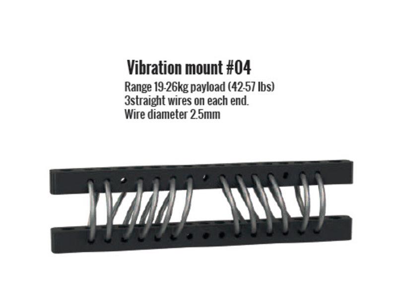 Flowcine Black Anti-Vibration-Mount No.4