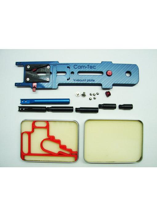 Cam-Tec V-Mount snap plate für Clipper, Archer, Zephyr