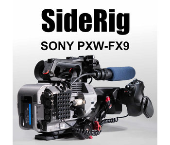 Hartung-Camera Side Rig FX9 for Sony PXW-FX 9 cameras