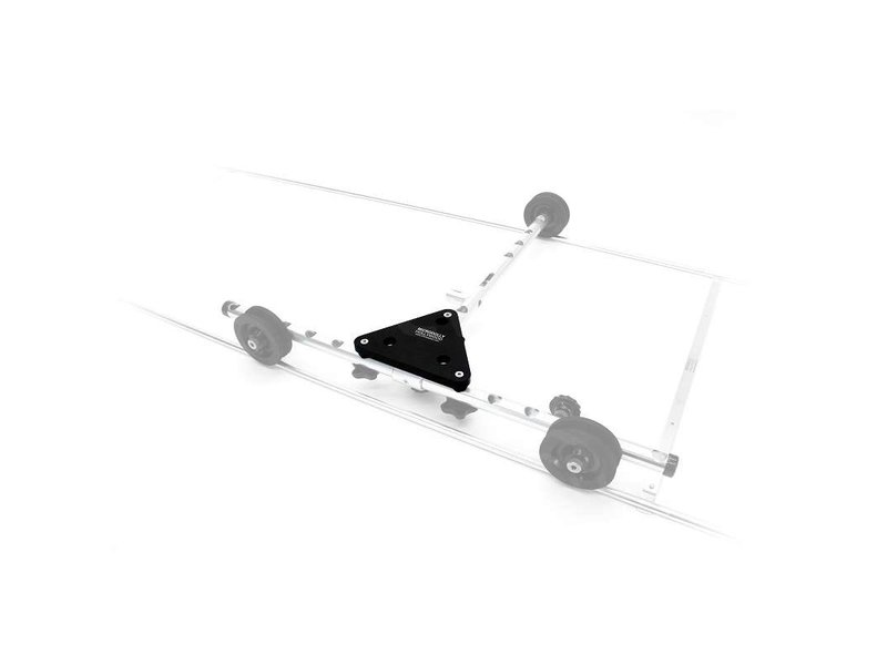 Microdolly Hollywood Triangle Dolly Adapter Plate