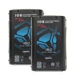 IDX CUE-H 180 (2 Stück), D-Tap, 179Wh Kapazität, 14,8V/12,1Ah