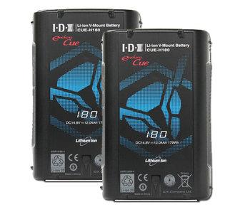 IDX CUE-H180 ( 2 Stück ) Endura, 179Wh, D-Tap