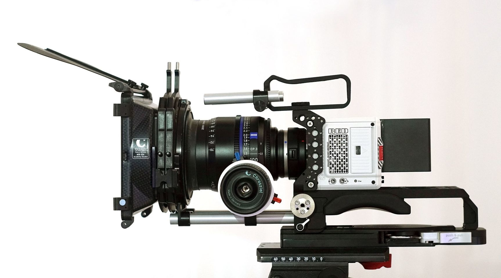 NEW Light Weight Support, cage and hand grip for the camera RED Komodo