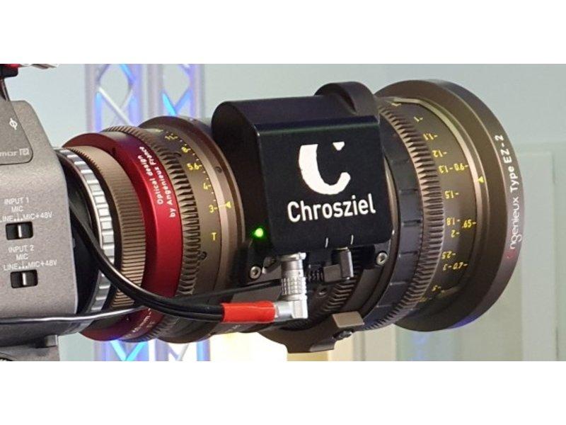 Chrosziel CDM-EZ-Z2 - kompakte Steuerungseinheit für Angenieux EZ-1 und EZ-2 ...