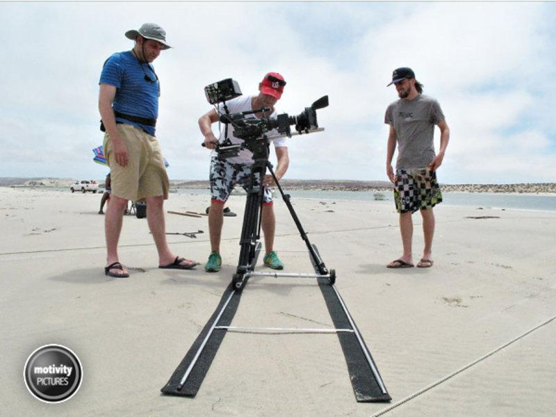 Microdolly Hollywood Länge 4 Meter, 4,5kg Eigengewicht ultraleichte ... #1401