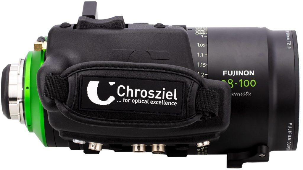 Chrosziel Presents its new Full Servo Drive Unit for Fujinon Premista Lenses