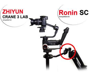 Upside-Down Adapter for Zhiyun Crane 3 Lab & DJI Ronin-SC
