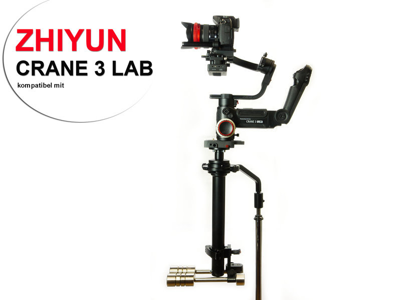 Zhiyun Crane 3 Lab adapter usable with Steadimate-S systems/adapter