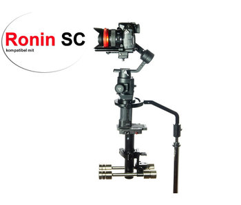 Ronin SC adapter usable with Steadimate-S system/adapters