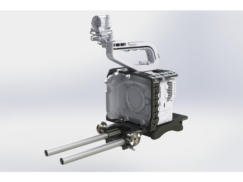 Chrosziel Kit lightweight support (LWS), cage and handle for Canon EOS C70