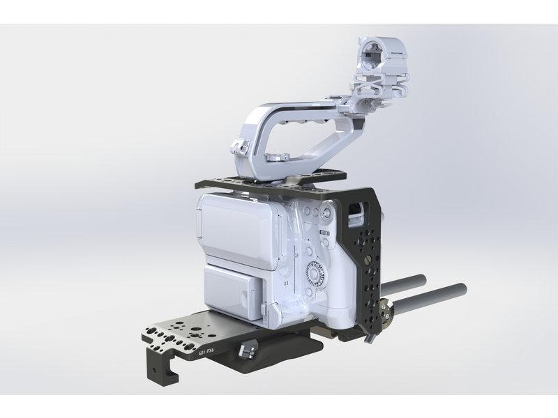 Chrosziel Kit Leichtstütze (LWS), Cage und Handgriff für Canon EOS C70