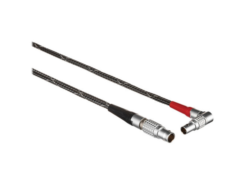 Chrosziel 5-Pin LEMO to 7-Pin LEMO Start/Stop + Power Cable (Right Angle) - RS-A2M-P-CAM-A180