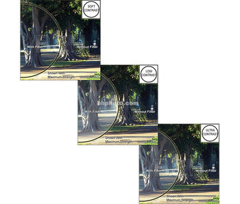 Tiffen Filters 4X4 IM CONTRAST CONTROL KIT - 44IMCCK