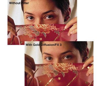 Tiffen Filters 4X4 GOLD DIFFUSION 1/4 FILTER - 44GDFX14