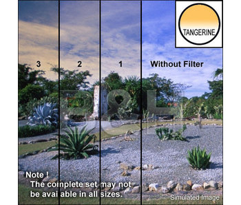 Tiffen Filters 4X4 CLR/TANGERINE 2 SE FILTER - 44CGTA2S