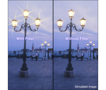 Tiffen Filters 4x4 Star 6pt 3mm Filter - 44STR63