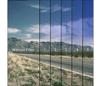Tiffen Filters 4x4 Clear/Cool Blue 3 Grad Soft Edge (SE) Filter - 44CGCB3S