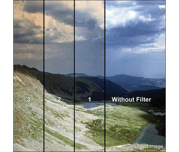 Tiffen Filters 4x4 Clear/Chocolate 2 Soft Edge (SE) Filter - 44CGCH2S