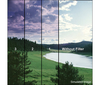 Tiffen Filters 4x4 Clear/Grape 2 Soft Edge (SE) Filter - 44CGGR2S