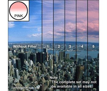 Tiffen Filters 4x4 Clear/Pink 1 Grad Soft Edge (SE) Filter - 44CGP1S