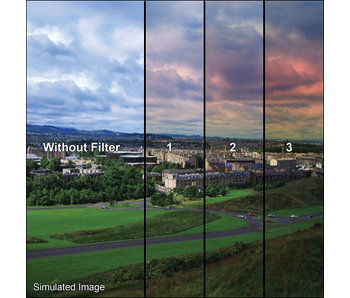 Tiffen Filters 4x4 Clear/Skyfire 2 Grad Filter - 44CGSF2