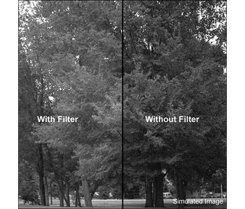 Tiffen Filters 4x4.58 Filter - Dark Green Filter - 4458
