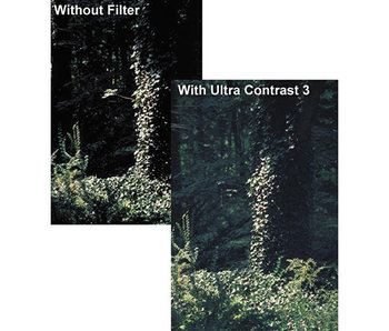 Tiffen Filters 6.6X6.6 ULTRA CONTRAST 1/2 FILTER - 6666UC12