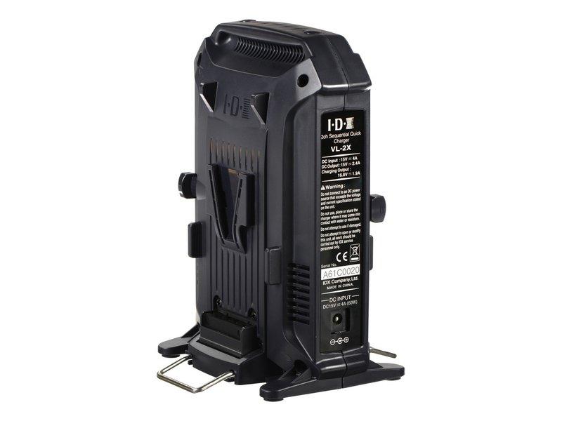 IDX Bundle: 2x IDX CUE-H135 V-Mount battery & VL-2X 2-fach charger