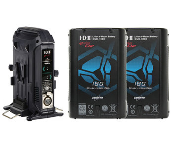 IDX CUE-H180/2x BUNDLE - EC-H180/2X