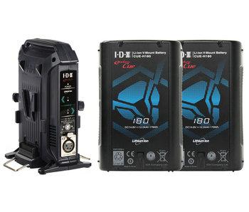 IDX CUE-H180/2x BUNDLE