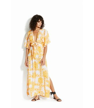 Seafolly Sunflower Maxi Dress Buttercup