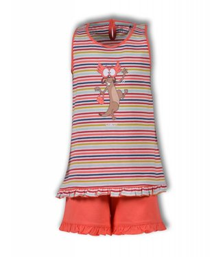 Woody Girls Frill Top & Shorts 191-1-PSP-S/946